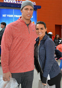 Megan&Brian Cushing Photo credit Micheal J.Cox