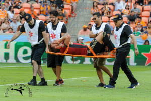 HOUSTON TX, March 3, 2018: MLS Regular Season: Houston Dynamo vs Atlanta United at BBVA Compass Stadium, Houston TX